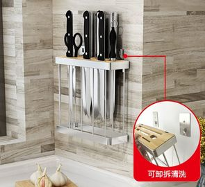 Chiny Knife Kitchen Kitchen Wall Rack, deska do krojenia Stand Tools Kitchen Hanging Rack dostawca
