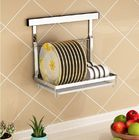 Kuchnia ścienna Kitchen Organizer Rack Dish Drying With Drilling